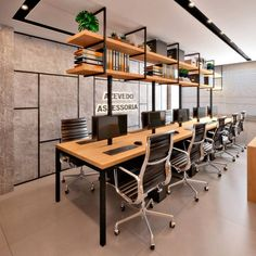 Design for an accounting office with an industrial footprint. What ac ...   - OFFICE / Büro - #accounting #Büro #design #footprint #Industrial #office