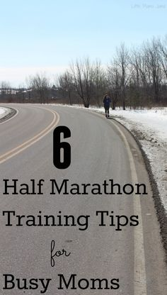 6 Half Marathon Training Tips for Busy Moms #FitToPlay #ad