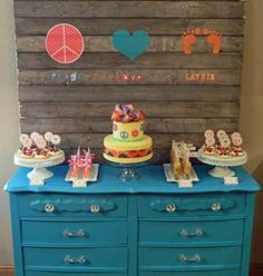 Peace, Love & Baby shower