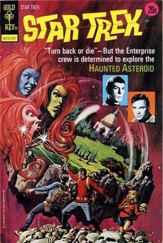 The marvelous cover art of the early 'Star Trek' comic books | Dangerous Minds