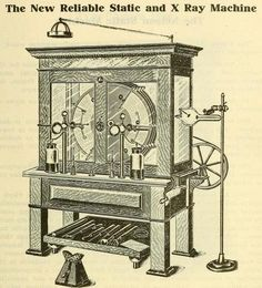 X Ray Machine.,is established for first time.18/1/1896
