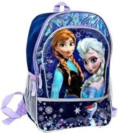 Filling a Frozen Backpack with Fun Back-to-School Supplies