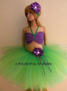Little Mermaid Ariel Tutu Dress, Large Tutu Dress, Girls Tutus, Tutu Costumes Halloween Tutu Costumes, Ariel Costumes, Halloween Dress, Ariel Tutu Dress, Princess Tutu Dresses, Birthday Tutu, Birthday Dresses, Tutus For Girls, Girls Dresses