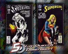 SUPERGIRL # 11 Y 12 HISTORIA COMPLETA CONTRA SILVER BANSHEE. MUY RECOMENDABLE. $ 100.00 Para más información, contáctanos en http://www.facebook.com/la5aDimension