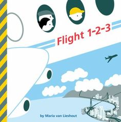 What can you see when you go on an airplane journey? 1 airplane, 2 luggage carts, 3 check-in counters, and so much more! Using familiar airport signs, this striking book introduces little ones not only to numbers, but to the world around them. This book is equally suitable for the transportation-obsessed as well as any child learning to count. (Pre-school to 2nd grade)  6/2013