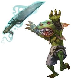 My (DM-approved) crazy character concept! Twin albino goblin ...