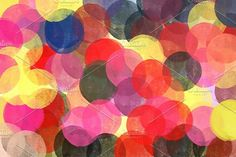 Circles Abstract Pattern. Shapes #circle #circles