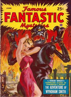 More pulp cover parade Science Fiction Magazines, Science Fiction Art, Sci Fi Comics, Horror Comics, Pulp Magazine, Magazine Art, Magazine Covers, Pulp Fiction, Norman