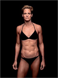At 41 she won a swimming Olympic gold medal.  I want this body at 41!