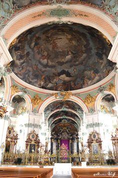 St. Gallen, Stiftskirche, Schweiz