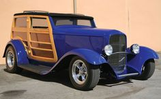 """1932 Ford """"Speedwagon"""" Woodie Phantom for sale: Anamera Ford Classic Cars, Classic Trucks, Muscle Cars, Station Wagon Cars, Woody Wagon, 1932 Ford, Unique Cars, Vintage Cars, Retro Cars"""