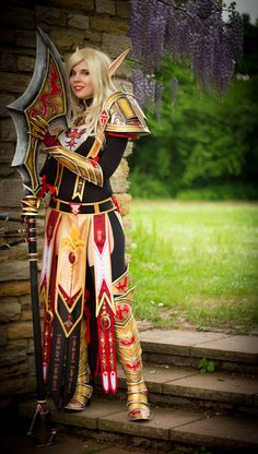 World of Warcraft (WoW) Blood Elf, cant wait to get into cosplaying so i can cosplay my blood elf.