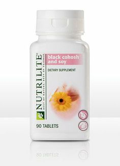 NUTRILITE Black Cohosh and Soy for Menopause relief - 90 Tablets by NUTRILITE. $30.00. NUTRILITE Black Cohosh and Soy includes: Support for overall well being during menopause  The amount of black cohosh, 120 mg per day, that is recommended in the current German Commission E Monograph  Support for normal heart health and healthy bone mass  A daily serving, 300 mg, of soy protein  Powerful plant extracts and phytonutrients from 2 exclusive NUTRILITE products, Ac...