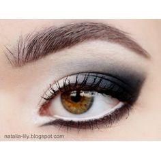 Black and White - #eyemakeup #eyeshadow #eyes #makeup #blacksmokey #blackshadow #natalialily -  Love beauty? Go to bellashoot.com for beauty inspiration!