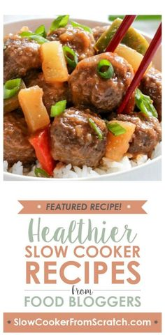 Slow Cooker Hawaiian Meatballs from Recipe Girl sound exotic (and delicious!) but this recipe uses mostly  common ingredients, some of which you might already have in the house. And I bet this would be a big hit for a slow cooker dinner! [featured on SlowCookerFromScratch.com]