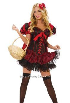 Crossdresser Sissy Red Riding Hood Costume Size L With Wig And Stockings  sc 1 st  Pinterest & Crossdresser Sissy Long Wavy Cosplay Flirt Wig #DearLover #FullWig ...