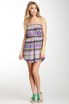 Billabong Sleeveless Printed Dress by Non Specific on @HauteLook