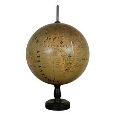 Turn of the Century French Globe