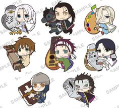 Reservations start at Ami Ami! Arslan Senki Pitakore rubber strap (July 2015)