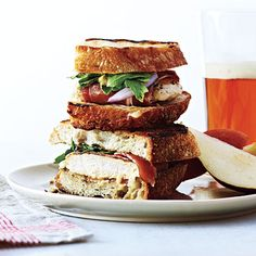 Learn how to make Grilled Ham, Chicken, and Gruyère Sandwiches . MyRecipes has 70,000  tested recipes and videos to help you be a better...