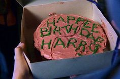I want someone to make me this cake....put My name instead of Harry and I will be so happy that you won't even need to get me a present