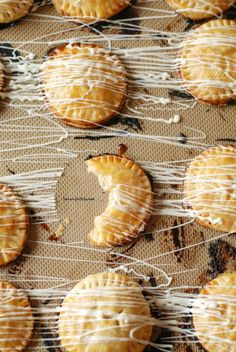 Lemon curd filling and white chocolate drizzle make these hand pies anything but ordinary.