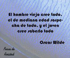 Frases de cumpleaños de Oscar Wilde