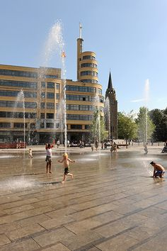 Place Flagey by Latz + Partner « Landscape Architecture Works | Landezine
