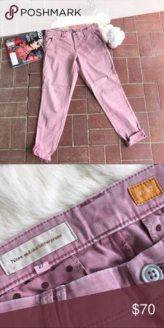 Pilcro Pink Pants! Pilcro Pink Pants! •So cute •Pretty pastel pink great for spring! •VGUC Pilcro Pants Ankle & Cropped