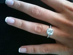 Tacori engagement rings are beautiful too :)