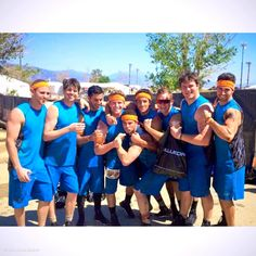 James and the tough mudder!