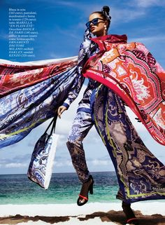 Glamour Italia April 2012 Editorial - Lucette van Beek