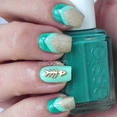 Instagram photo by mllrdesign #nail #nails #nailart