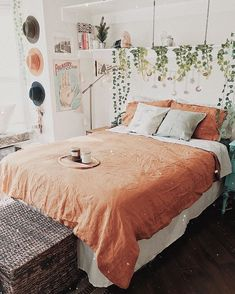 Dream Rooms Boho - Decoration Home Dream Rooms, Dream Bedroom, Home Bedroom, Boho Bedroom Decor, Bedroom Ideas, Bedroom Colors, Bohemian Decor, Bohemian Bedrooms, Bohemian Beach