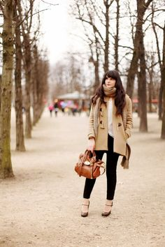 Moda per principianti: Woman in beige