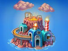 Tiny Factory  by Andru Gavrish