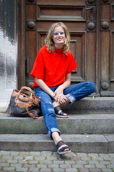 Scandinavian Standard: Copenhagen Fashion Week Spring 2015 Street Style - Page 58 - Harper's BAZAAR