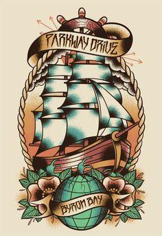 tattoo boat old school - Pesquisa Google