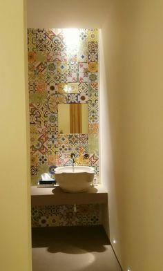 Details puglia masseria cantina bathroom tiles