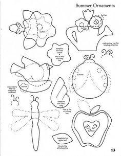 Фетровые идеи для творчества с детьми.