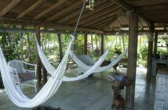 Playa Manglares: hammock porch