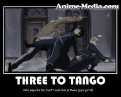 Scar, Mustang, and Hawkeye... the perfect tango team.