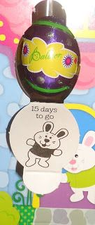 Start of the countdown to Easter.
