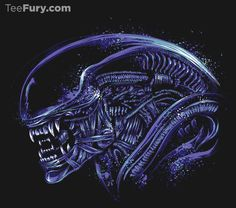 """Space Nightmare"" by #DrMonekers is available on #TeeFury!"