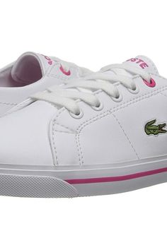 Lacoste Kids Marcel 117 1 SP17 (Little Kid) (White/Pink) Girls Shoes - Lacoste Kids, Marcel 117 1 SP17 (Little Kid), 7-33CAC1017-B53, Footwear Athletic General, Athletic, Athletic, Footwear, Shoes, Gift, - Street Fashion And Style Ideas