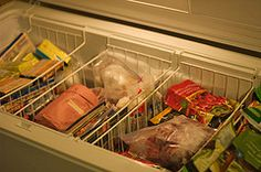 Need more freezer baskets to organize my chest freezer in the garage - making tons of meals for when Olivia is born!