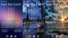Nature Mood Application Windows Phone devices   Problems with sleep? You simply want to relax? This app is the best for you!