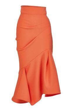 Quill Flirt Draped Skirt by Maticevski Classy Outfits, Chic Outfits, Fashion Outfits, Womens Fashion, Fashion Ideas, High Fashion Dresses, Look Fashion, Fashion Design, 1940s Fashion