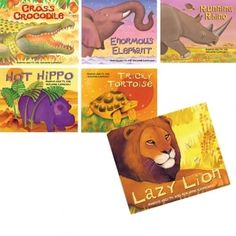 Beautifully illustrated picture books, each telling a tale about an African animal. Children will love to read about these fantastic wild animals, their history and the folk tales behind them.