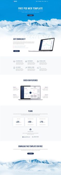 Enyo is a clean, creative and responsive landing page template for software , start-ups and mobile apps. Well organized and very easy to customize, Enyo is the best way to present and promote your start-up software or mobile app website.